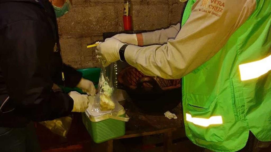 Asisten a fiesta durante pandemia de COVID-19 en Veracruz y terminan intoxicados - Alimentos que intoxicaron a diez personas durante fiesta en Veracruz. Foto de Milenio