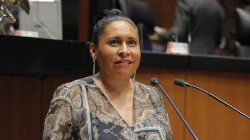 Ana Lilia Rivera exige a Morena reponer procedimiento para candidatura a gobierno de Tlaxcala - Foto de @Ana_LiliaRivera