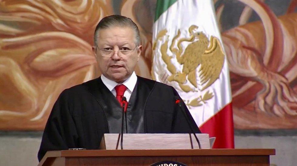 Jueces piden a diputados eliminar ampliación de gestión de Arturo Zaldívar - El ministro presidente, Arturo Zaldívar. Foto de SCJN.
