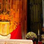 Misa Dominical desde la Basílica de Guadalupe oficiada por el Cardenal Carlos Aguiar Retes - Basílica de Guadalupe cercada por elementos de SSC y Guardia Nacional para evitar llegada de fieles. Foto Twitter @INBGuadalupe