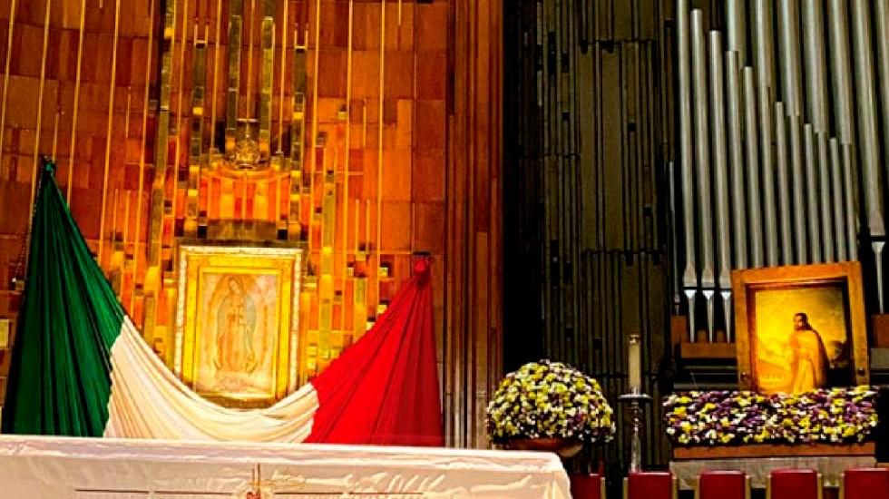 Cerrada la Basílica de Guadalupe para evitar llegada de fieles - Basílica de Guadalupe cercada por elementos de SSC y Guardia Nacional para evitar llegada de fieles. Foto Twitter @INBGuadalupe