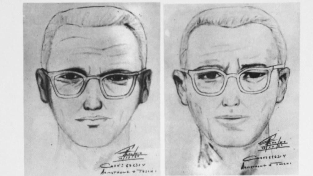 Descifran, 51 años después, mensaje del asesino del Zodiaco - Boceto de la cara del asesino del Zodiaco. Foto de Departamento de Policía de San Francisco, California