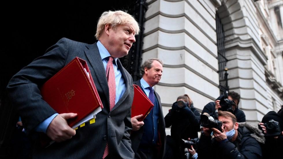 """Boris Johnson ve """"muy complicado"""" un acuerdo del Brexit - Foto de EFEE"""