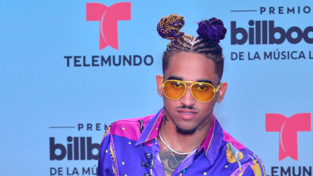 Detienen al rapero Bryant Myers en aeropuerto de Puerto Rico - Foto de EFE