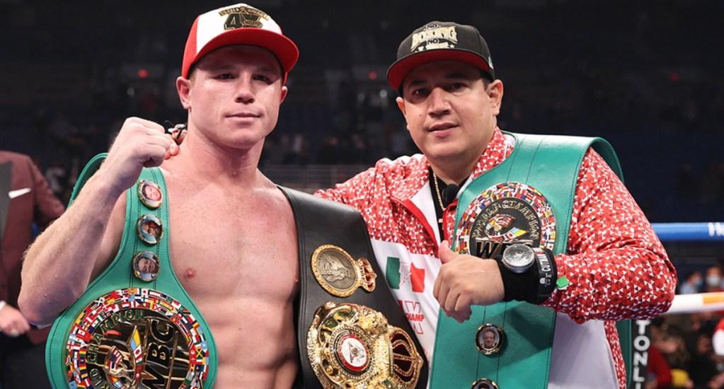 Boxeo: la reinvención de la industria ante los golpes del COVID-19, según Sulaimán - Canelo Álvarez pelea