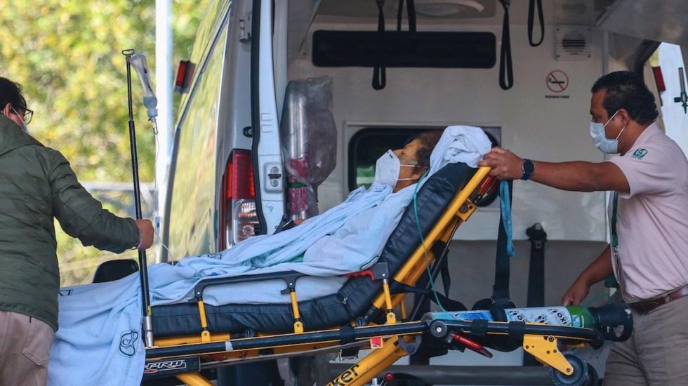 México vuelve a superar los 11 mil casos y 800 muertes diarias por COVID-19 - Foto de EFE