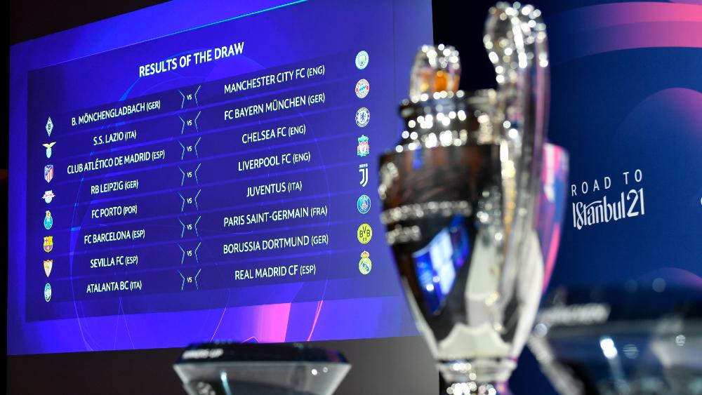Así se jugarán los octavos de final de la Champions League - Foto de EFE