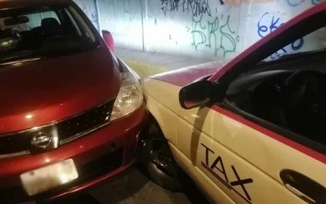 Conductor asesina a taxista en Iztapalapa por percance vial - Choque vehicular en Iztapalapa que terminó en homicidio. Foto de SSC-CDMX
