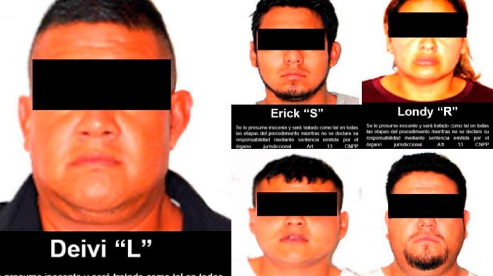 Dan 50 años de cárcel a secuestradores en Edomex; entre ellos hay expolicías y un agente en activo - Cincuenta años de cárcel a 5 sujetos por secuestro, entre ellos dos expolicías y policía en activo, informa FGR. Foto Twitter @FGRMexico