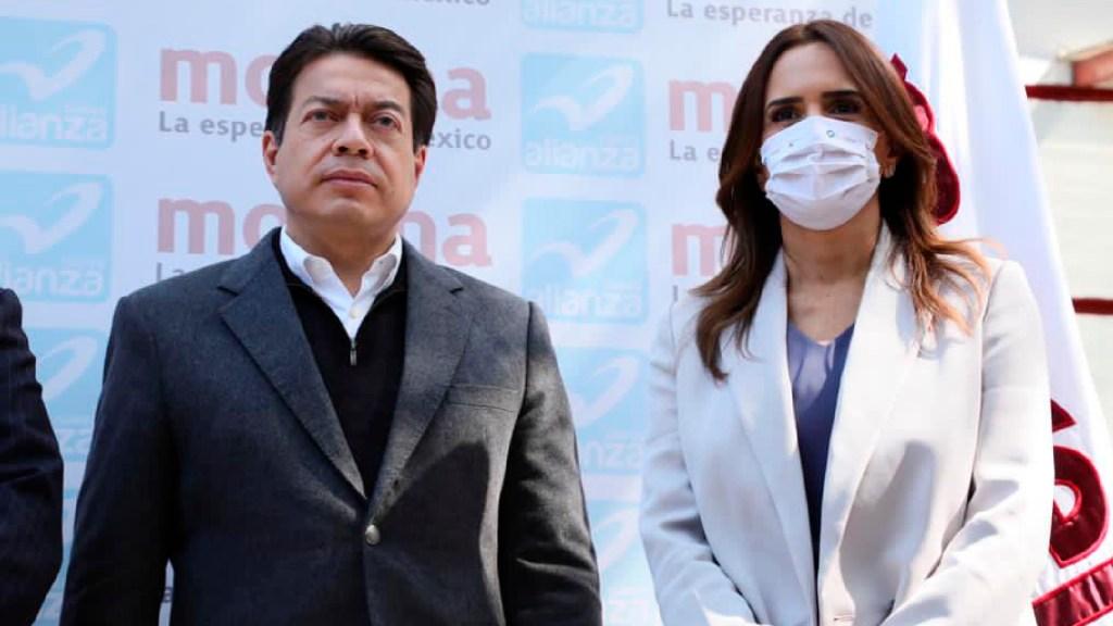 Clara Luz Flores será la candidata de Morena a la gubernatura de Nuevo León - Clara Luz Flores será la candidata de Morena a la gubernatura de Nuevo León, anuncia Mario Delgado. Foto Twitter @mario_delgado