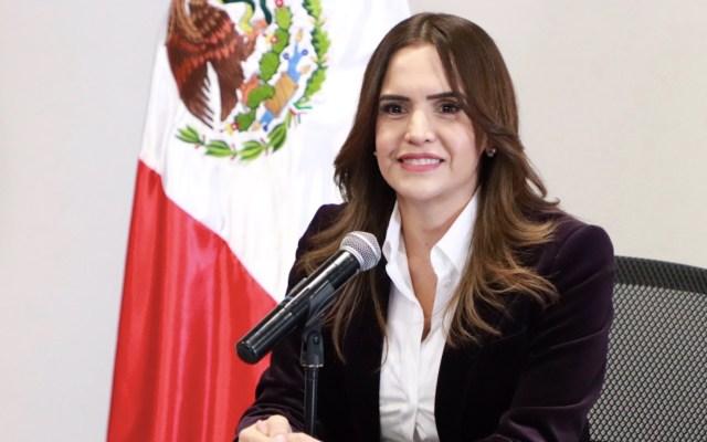 """Clara Luz Flores no se ha afiliado a Morena; """"Soy candidata externa"""" de la coalición para Nuevo León, aclara - Foto de Twitter Clara Luz Flores"""