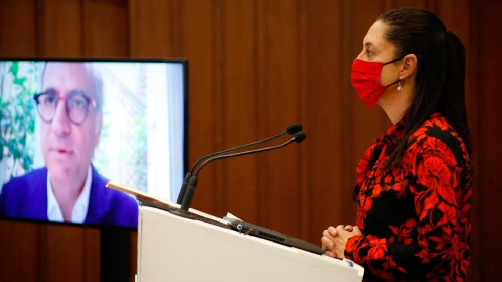 Sheinbaum asegura que llegada de la vacuna de Pfizer se definirá este lunes - Claudia Sheinbaum desconoce llegada de vacunas de Pfizer y asegura que la fecha se definirá en horas siguientes. Foto Twitter @Claudiashein