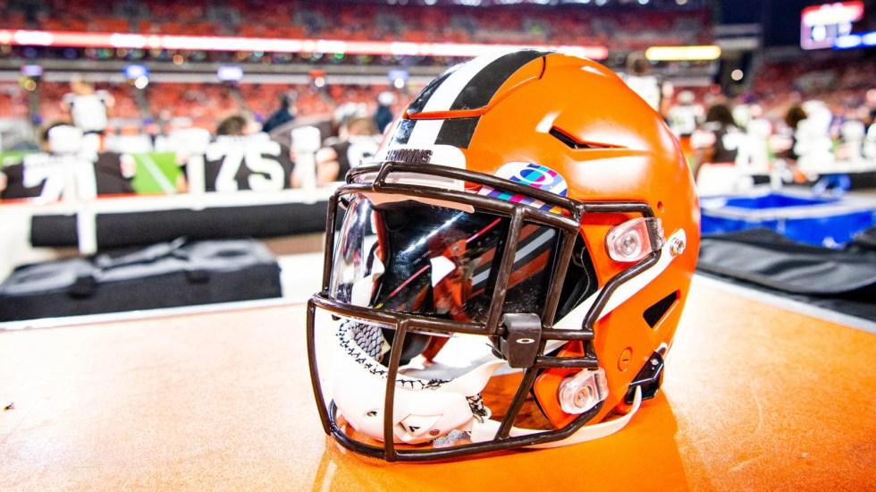 Tres receptores de los Browns son contactos de alto riesgo por COVID-19 - Foto de Cleveland Browns