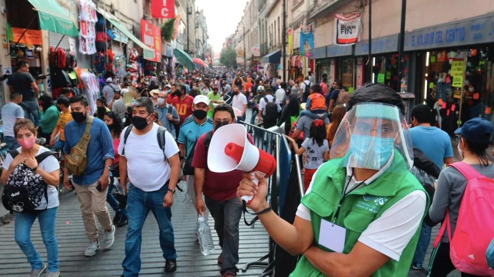 Nuevo récord de contagios de COVID-19 en México; más de 12 mil 500 casos el martes - Foto de EFE