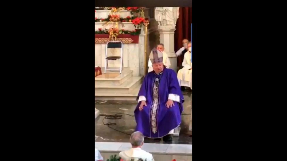 #Video COVID-19 se cura con té de guayaba o dióxido de cloro, afirma cardenal Juan Sandoval Íñiguez - COVID-19 se cura con té de guayaba o dióxido de cloro, afirma Juan Sandoval Íñiguez. Foto Captura de pantalla