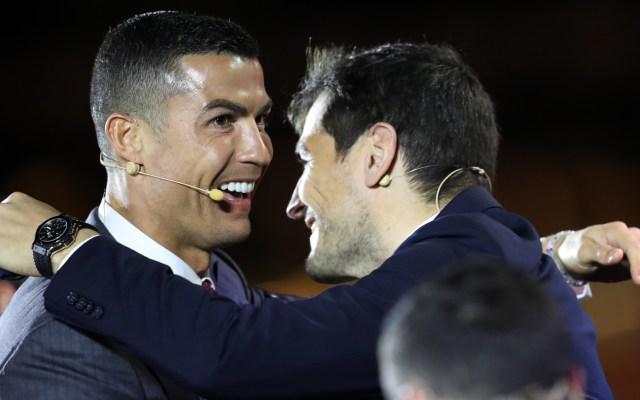 Cristiano Ronaldo, Guardiola y el Real Madrid, los mejores del siglo XXI - Cristiano Ronaldo durante Globe Soccer Awards. Foto de EFE