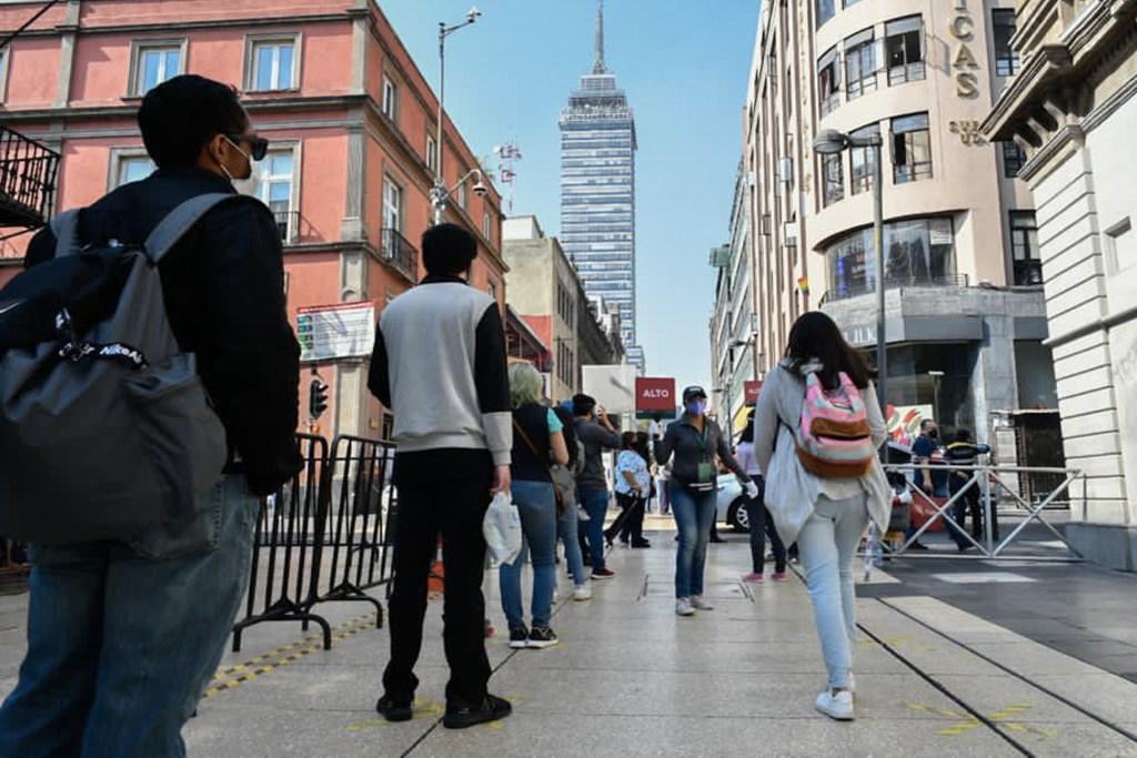 Desciende movilidad en la Ciudad de México, pero pico de hospitalizaciones por COVID-19 es máximo - Desciende la movilidad en la Ciudad de México, pero pico de hospitalizaciones por COVID-19 es máximo. Foto Twitter @Claudiashein
