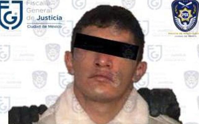 Detienen a Diego Alberto 'N', presuntamente relacionado con la desaparición de jóvenes en Azcapotzalco - Foto de FGJCDMX