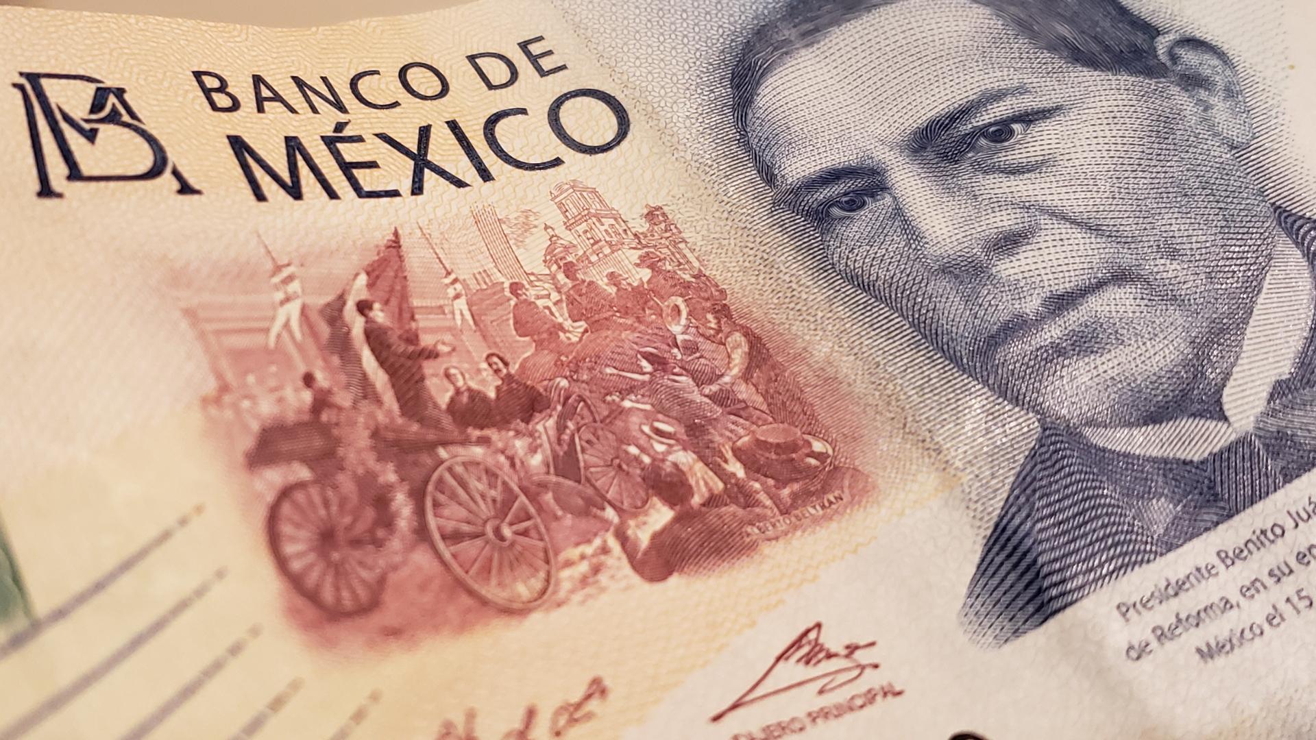 Dinero México billetes