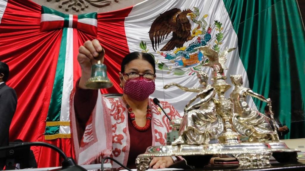 Presidenta de la Cámara de Diputados rechaza presentar controversia contra el Congreso de Tamaulipas - Foto de @DulceSauri