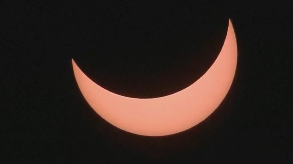 Así se vivió el Eclipse Solar en Sudamérica - Captura de Pantalla.