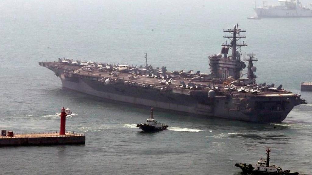 EE.UU. retira portaaviones de Medio Oriente en plenas tensiones con Irán - EE.UU. retira un portaaviones de Oriente Medio en plenas tensiones con Irán. Foto EFE