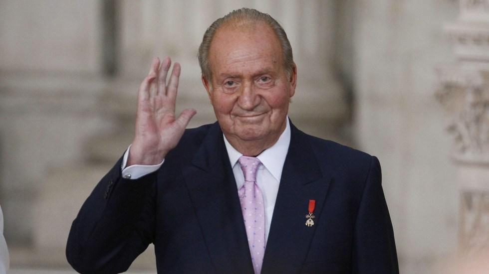 Rey Juan Carlos abona en España deuda de 678 mde por 'regalo' de empresario mexicano - El rey emérito, Juan Carlos I. Foto de EFE