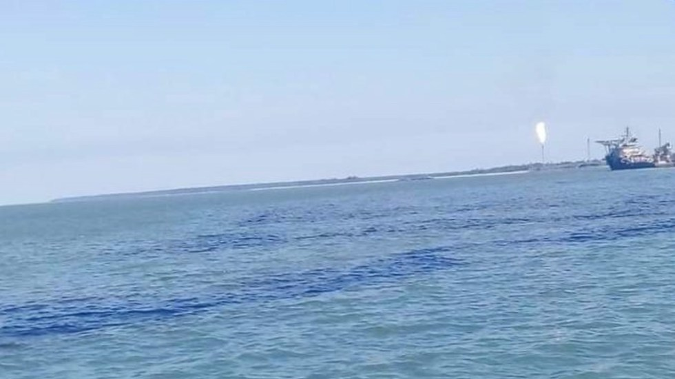 Explota ducto marino de Pemex frente a Dos Bocas, en Tabasco; incendio está controlado - Foto de Tabasco Hoy