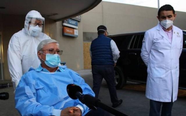 """Me siento débil"", señala Jaime Bonilla tras ser dado de alta del hospital por COVID-19 - Foto de El Sol de Tijuana"