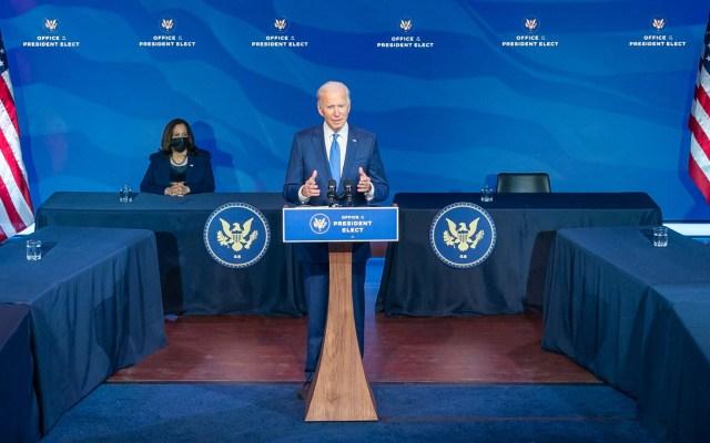 Joe Biden se convierte, oficialmente, en presidente electo de Estados Unidos - Joe Biden Estados Unios presidente electo
