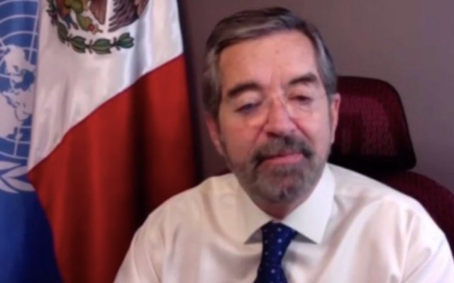 La memoria es pilar de la justicia trasnacional, asegura Embajador De la Fuente - Captura de pantalla