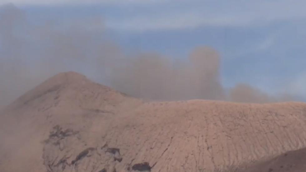 Actividad eruptiva de volcán en Nicaragua causa leves daños. Noticias en tiempo real