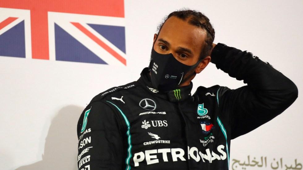 Lewis Hamilton, campeón de la F1, da positivo por COVID-19 - Foto de EFE