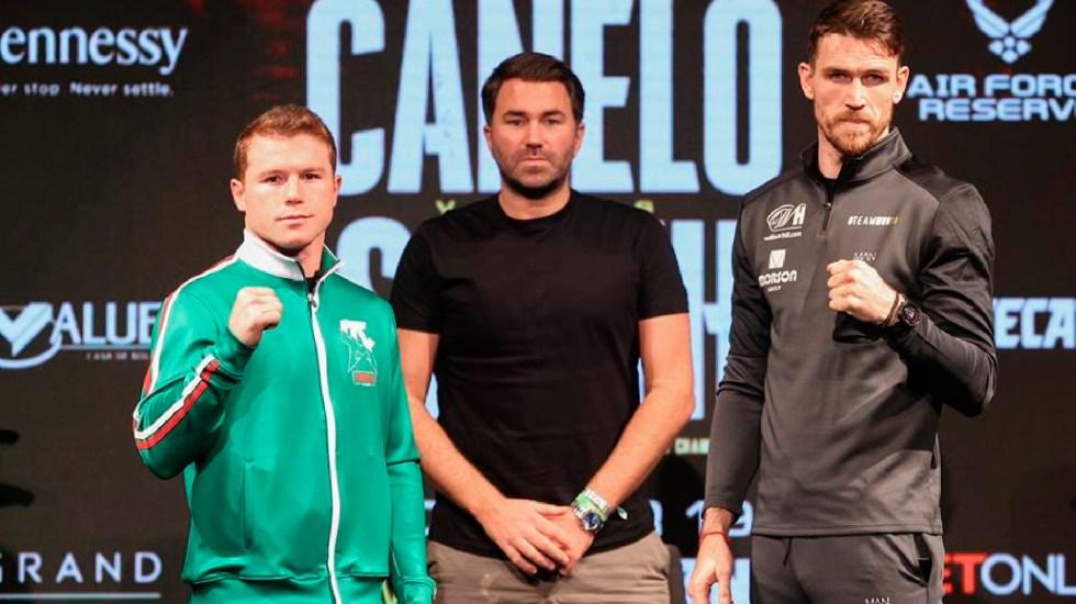 """""""Lo que genere riesgo es lo que me gusta"""", afirma 'Canelo' Álvarez sobre su pelea contra Callum Smith -"""