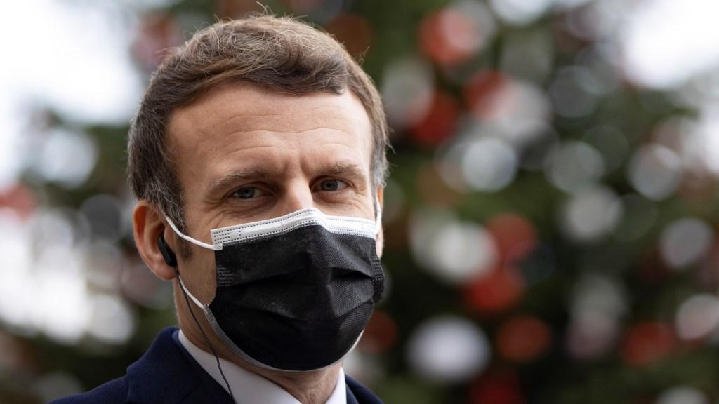 Macron se mantiene estable con tos y cansancio tras contagiarse de COVID-19 - Presidente francés, Emmanuel Macron. Foto de EFE