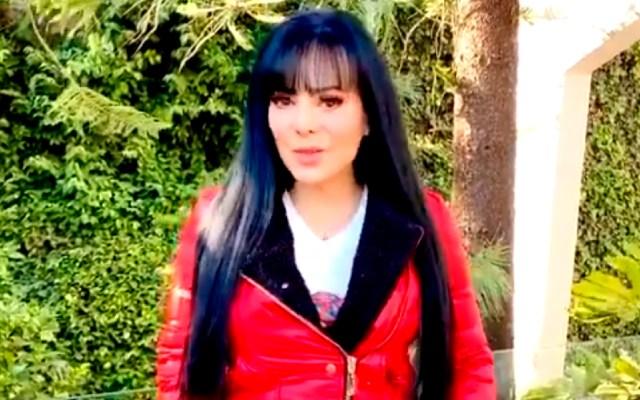 """#Video Maribel Guardia revela que se enfermó de COVID-19 """"hace tiempo""""; pide respetar medidas en Año Nuevo - Maribel Guardia dio positivo a COVID-19 y pide a la gente cuidar a seres queridos en reuniones de Año Nuevo. Foto Captura de pantalla"""