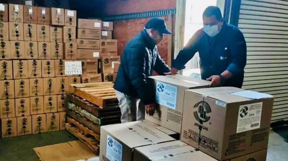 Coahuila recibe material médico para aplicación de vacuna contra COVID-19 - Foto de Gobierno de Coahuila