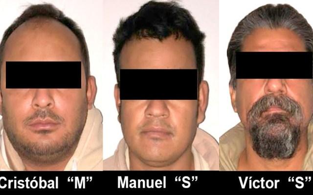 Extradita FGR a EE.UU. a tres hombres por homicidio, delitos sexuales y fraude - Mexicanos extraditados a EE.UU. Foto de FGR