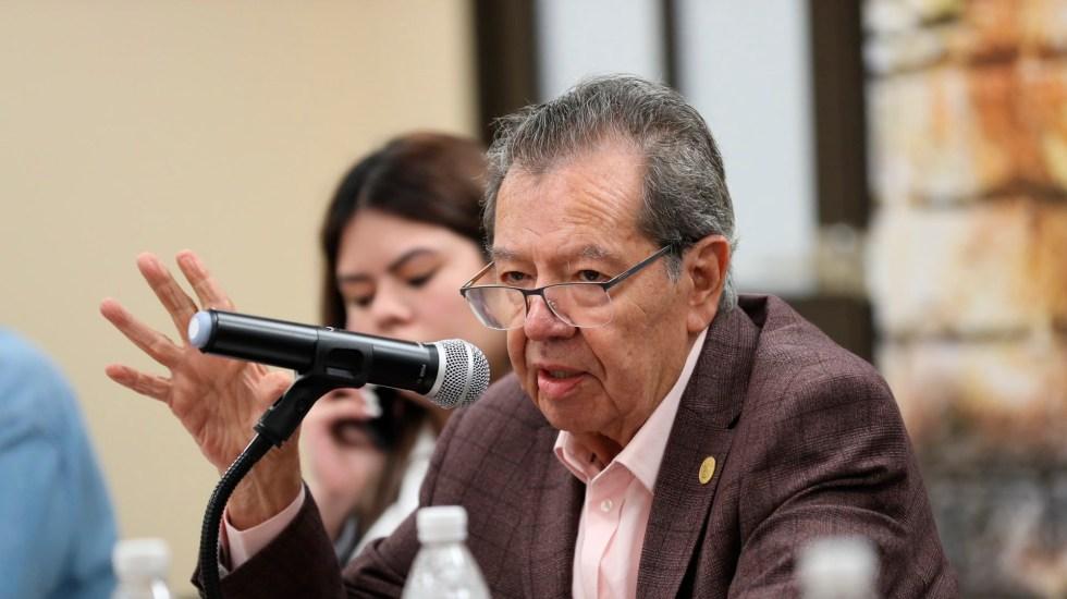 "Minuta del Senado para modificar Ley de Banco de México es ""muy peligrosa"", advierte Muñoz Ledo - Minuta del Senado para modificar Ley de Banco de México es muy peligrosa, advierte Muñoz Ledo. Foto Twitter @PMunozLedo"