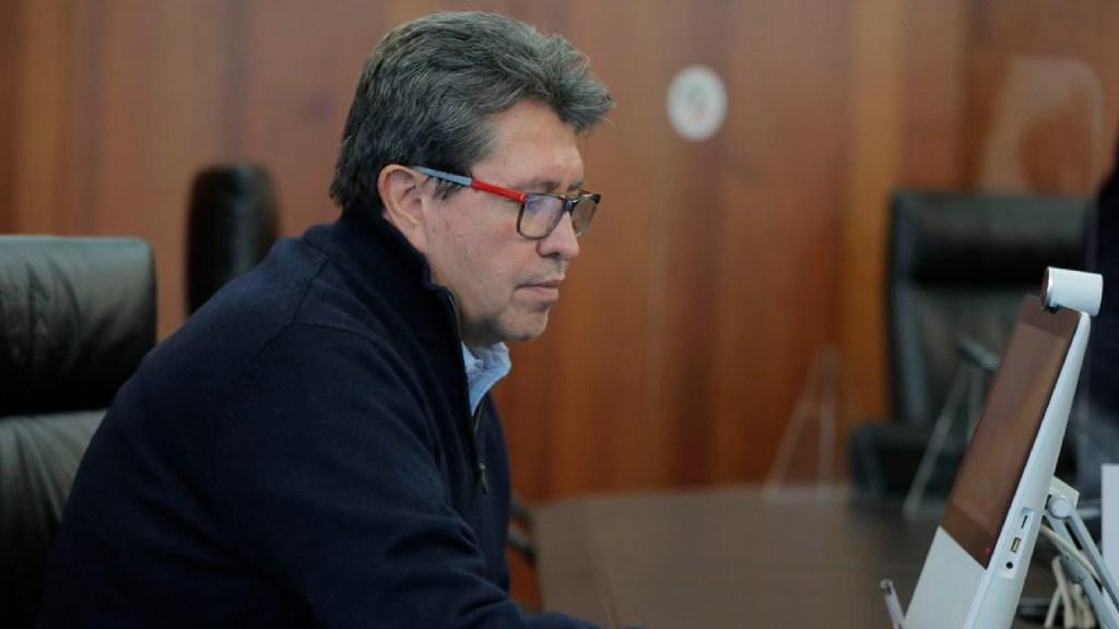 Monreal sostiene reuniones con sector financiero sobre reforma a la Ley del Banco de México - Monreal sostendrá reunión con gobernador de Banxico por reforma de captación de divisas. Foto Twitter @RicardoMonrealA