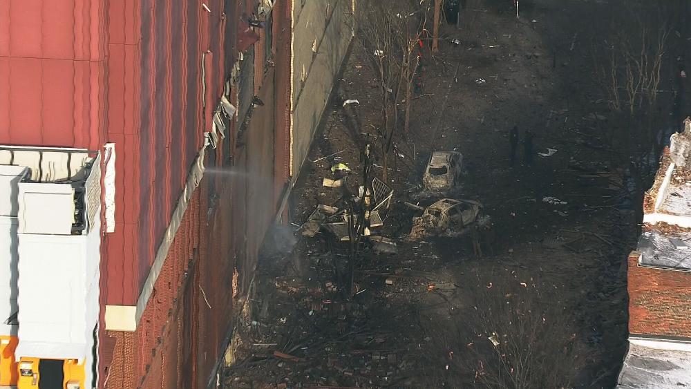 Fuerte explosión en Nashville deja al menos tres heridos - Foto de @NC5