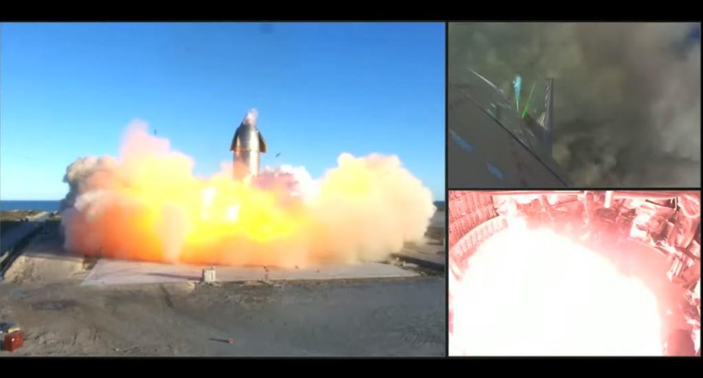 #Video Nave de SpaceX explota durante aterrizaje de prueba - Nave SpaceX explosión video