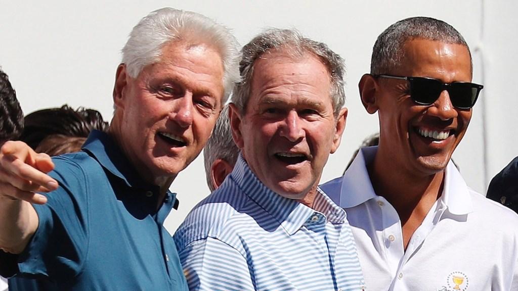 Obama, Bush y Clinton dispuestos a ser voluntarios para vacunarse contra el COVID-19 - Foto de EFE