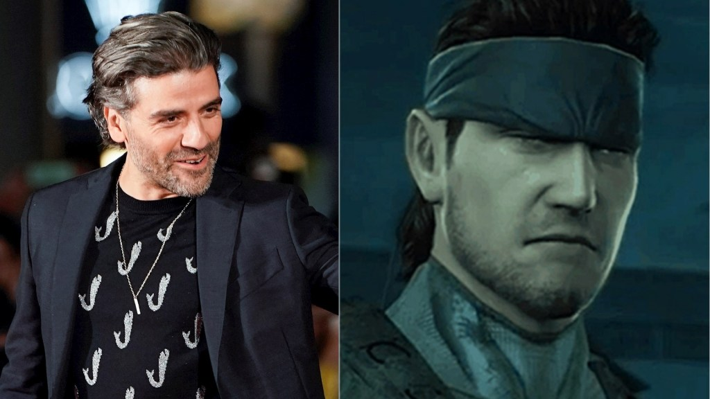 Óscar Isaac será Solid Snake en película de 'Metal Gear Solid' - Oscar Isaac Solid Snake