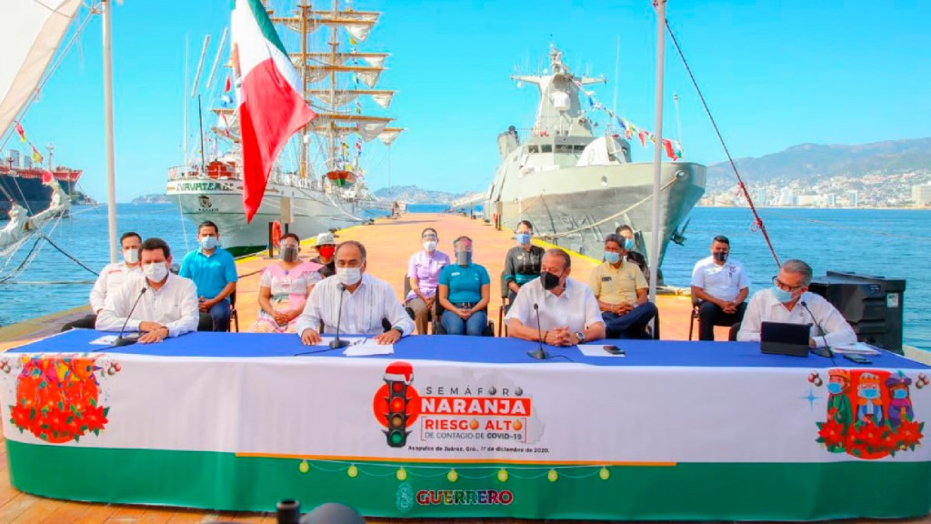 "Paso a Semáforo Amarillo en tres municipios de Guerrero ""no es ocurrencia"", afirma Héctor Astudillo Flores -"