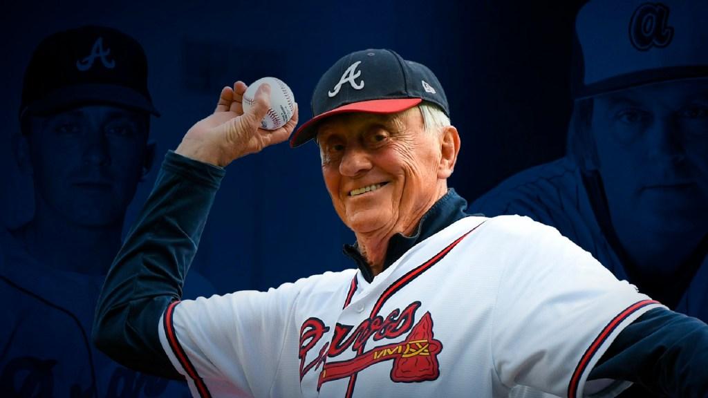 Phil Niekro, el legendario lanzador de los 'Bravos', murió a los 81 años - Phil Niekro, el legendario lanzador de los 'Bravos', murió a los 81 años. Foto Twitter @Braves