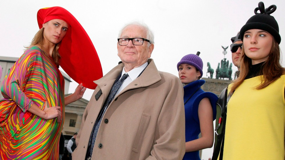 Ocho razones para recordar a Pierre Cardin como un revolucionario - Foto de EFE