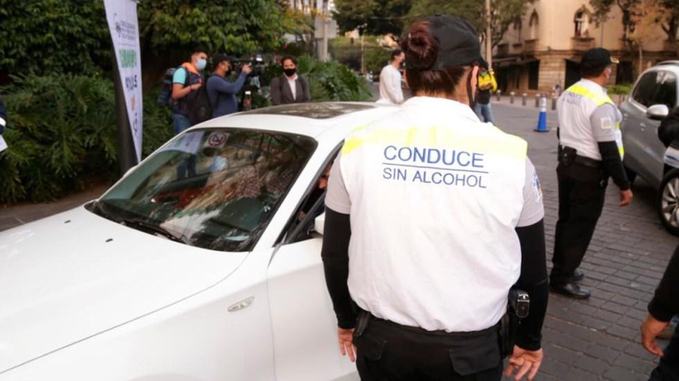 Hacen obligatorio en CDMX cumplir reclusión en 'Torito' para recuperar auto de corralón - Programa Conduce sin Alcohol en CDMX. Foto de SSC-CDMX