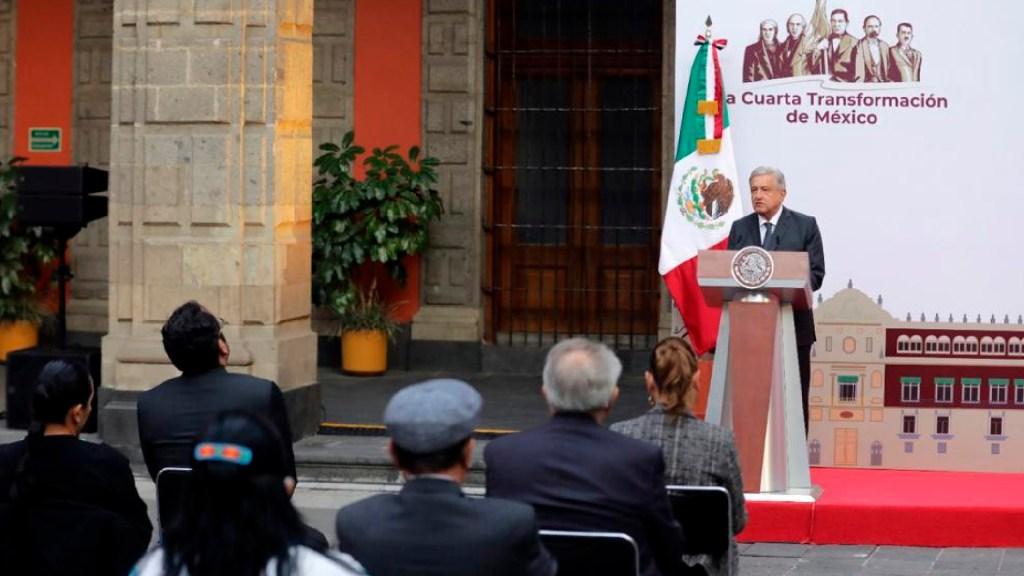 Reconoce López Obrador que homicidio doloso, feminicidio y extorsión siguen al alza - Reconoce AMLO que delitos como el homicidio doloso, el feminicidio y la extorsión van a la alza. Foto Presidencia