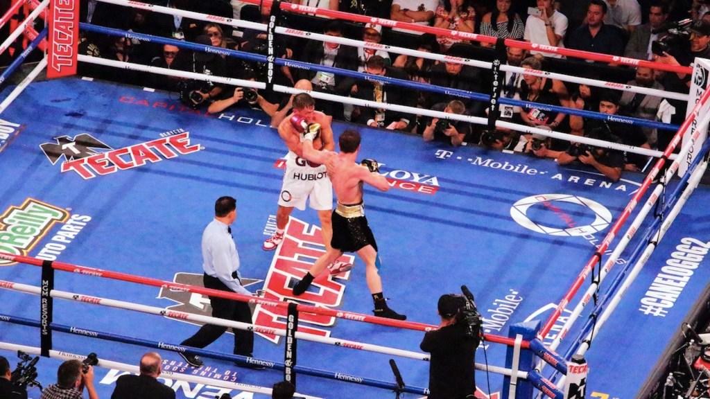 Se complica la tercera pelea entre 'Canelo' y Golovkin - Foto de EFE